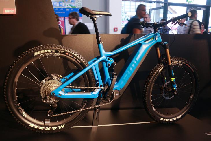Eバイク先進国スイスのBMCのE-MTB フルサス仕様だ