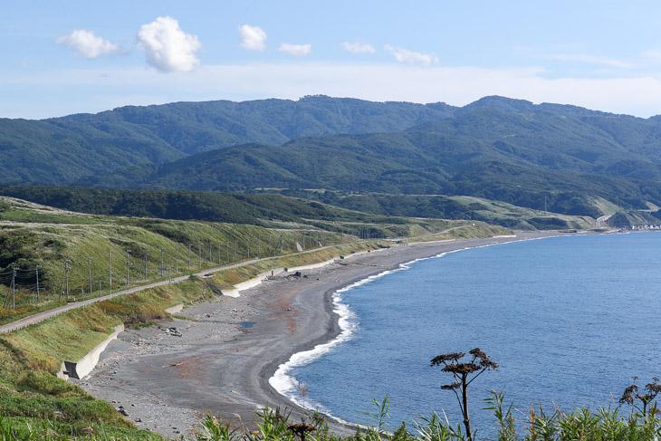 第2ステージ 上ノ国町の海岸線は風向き次第