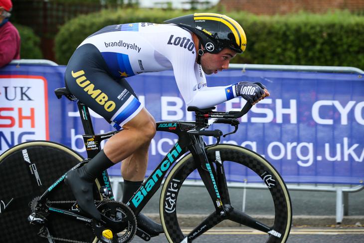 ステージ2位/6秒差 ヴィクトール・カンペナールツ(ベルギー、ロットNLユンボ)