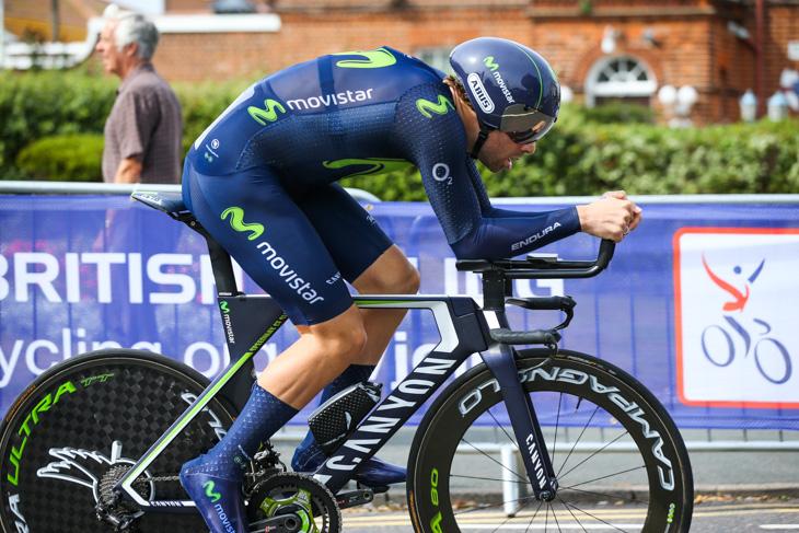 ステージ9位/21秒差 アレックス・ドーセット(イギリス、モビスター)