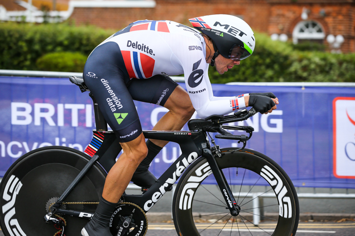 ステージ16位/30秒差 エドヴァルド・ボアッソンハーゲン(ノルウェー、ディメンションデータ)