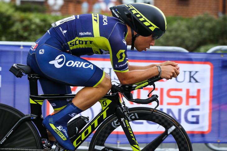 ステージ113位/3分57秒差 カレイブ・ユアン(オーストラリア、オリカ・スコット)