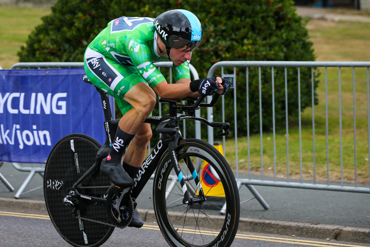 ステージ46位/1分23秒差 エリア・ヴィヴィアーニ(イタリア、チームスカイ)