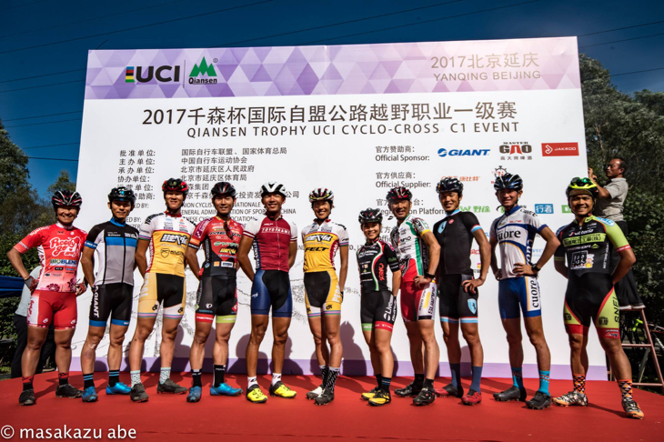 今回の中国遠征2連戦に臨んだ11名の日本選手