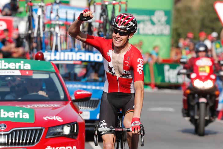 サンデル・アルメ(ベルギー、ロット・ソウダル)がキャリア初勝利を飾る