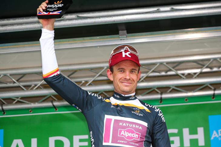 ポイント賞ジャージはアレクサンドル・クリストフ(ノルウェー、カチューシャ・アルペシン)の手に