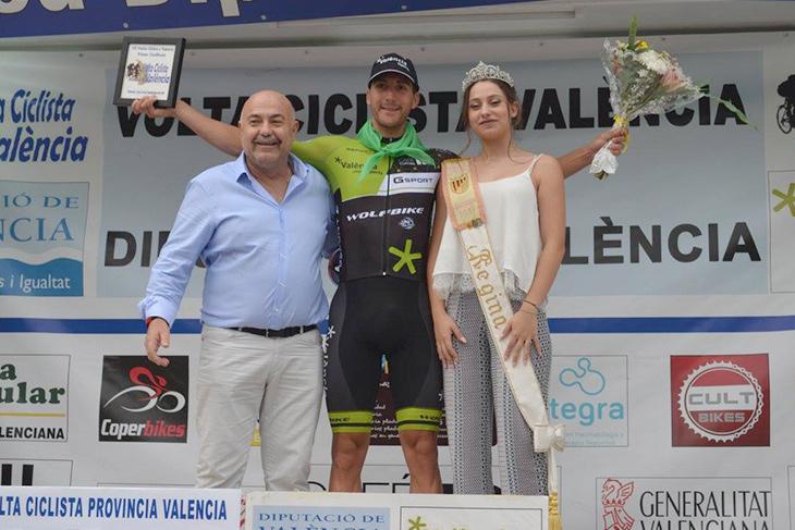 ステージ優勝のフランシスコ・ガルシア(スペイン、GSPORT-VALENCIA ESPORTS)