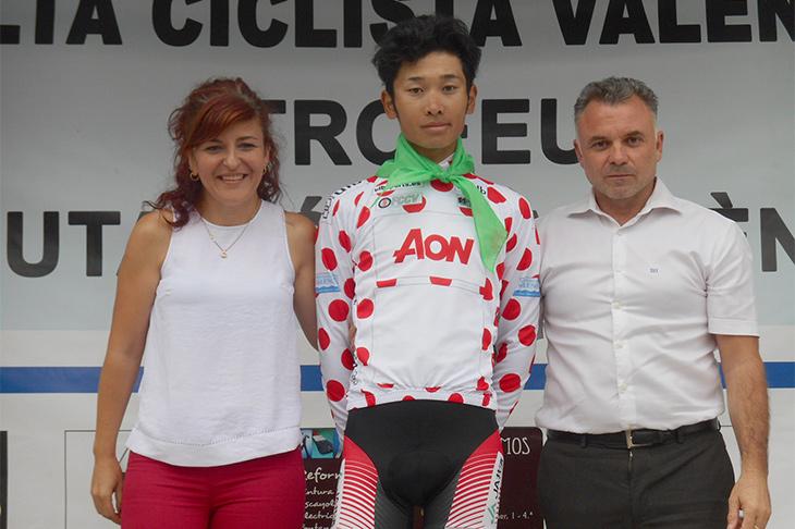 積極的な攻めの走りで山岳賞を確定させた雨澤毅明(日本U23/宇都宮ブリッツェン)