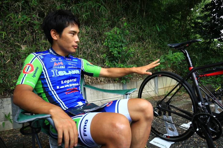 初めて3台の乗り比べインプレを行った中村龍太郎さん。グレード間の違いに驚いたようだ