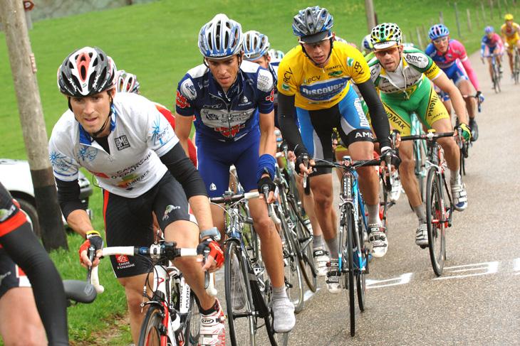2006年 ツール・ド・ロマンディで総合2位に入ったアルベルト・コンタドール(リバティーセグロス)