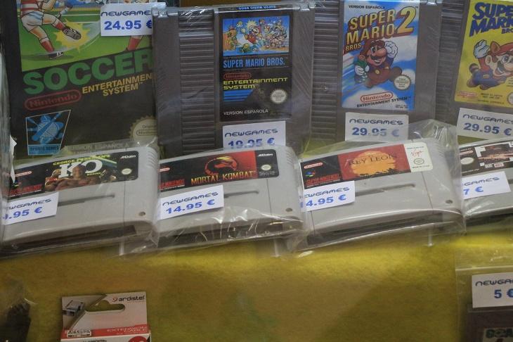 日本ではあまり見なくなった懐かしのゲームがたくさん