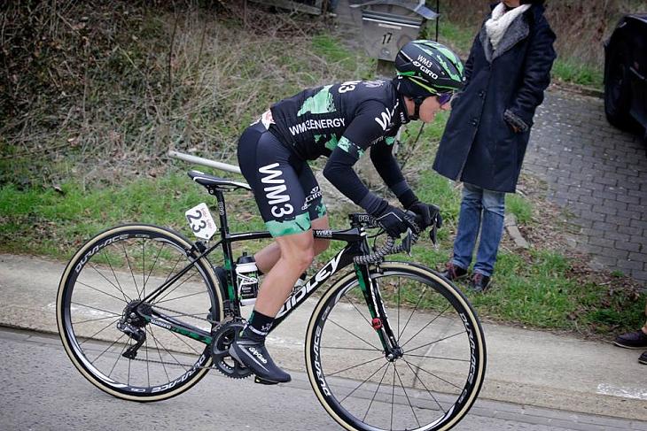 UCI女子チームのWM3プロサイクリングも同社バイクを駆る