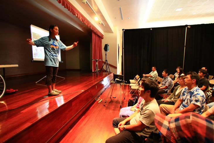 日本人向けの講座も開かれていた