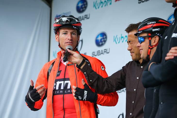 現役最終レースを迎えたマルティン・エルミガー(スイス、BMCレーシング)