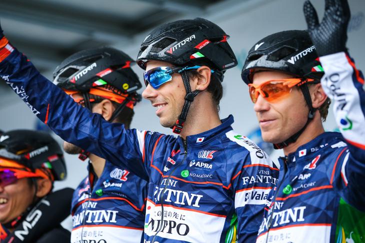 連勝を狙うマルコ・カノラ(イタリア、NIPPOヴィーニファンティーニ)