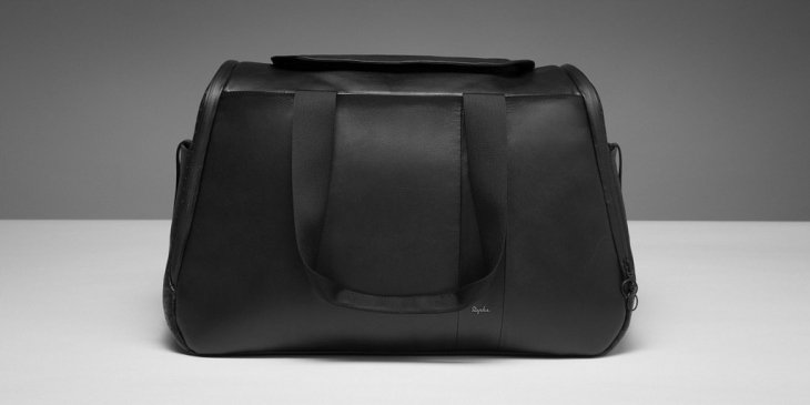 Rapha Leather Weekend Bag