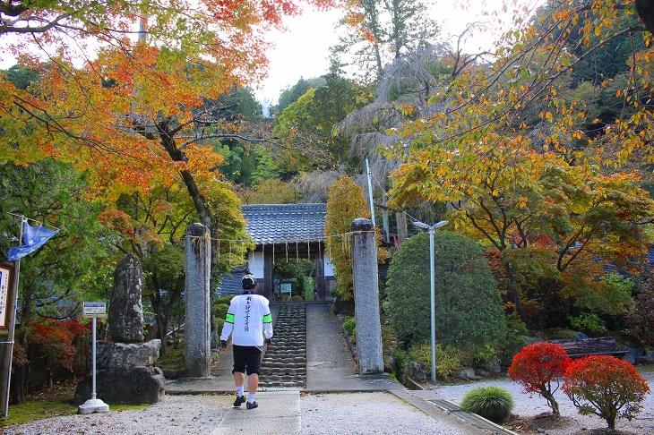 岩井堂から山沿いに進んだ場所にある大渕寺は護国観音のお寺として有名です