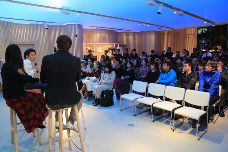 ボルボスタジオ青山で開催されたフォト&トークショー