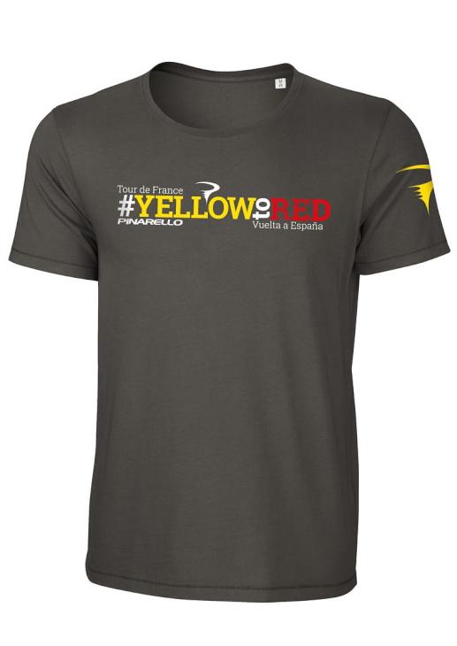 ピナレロ 2017Yellow to Red Tシャツ