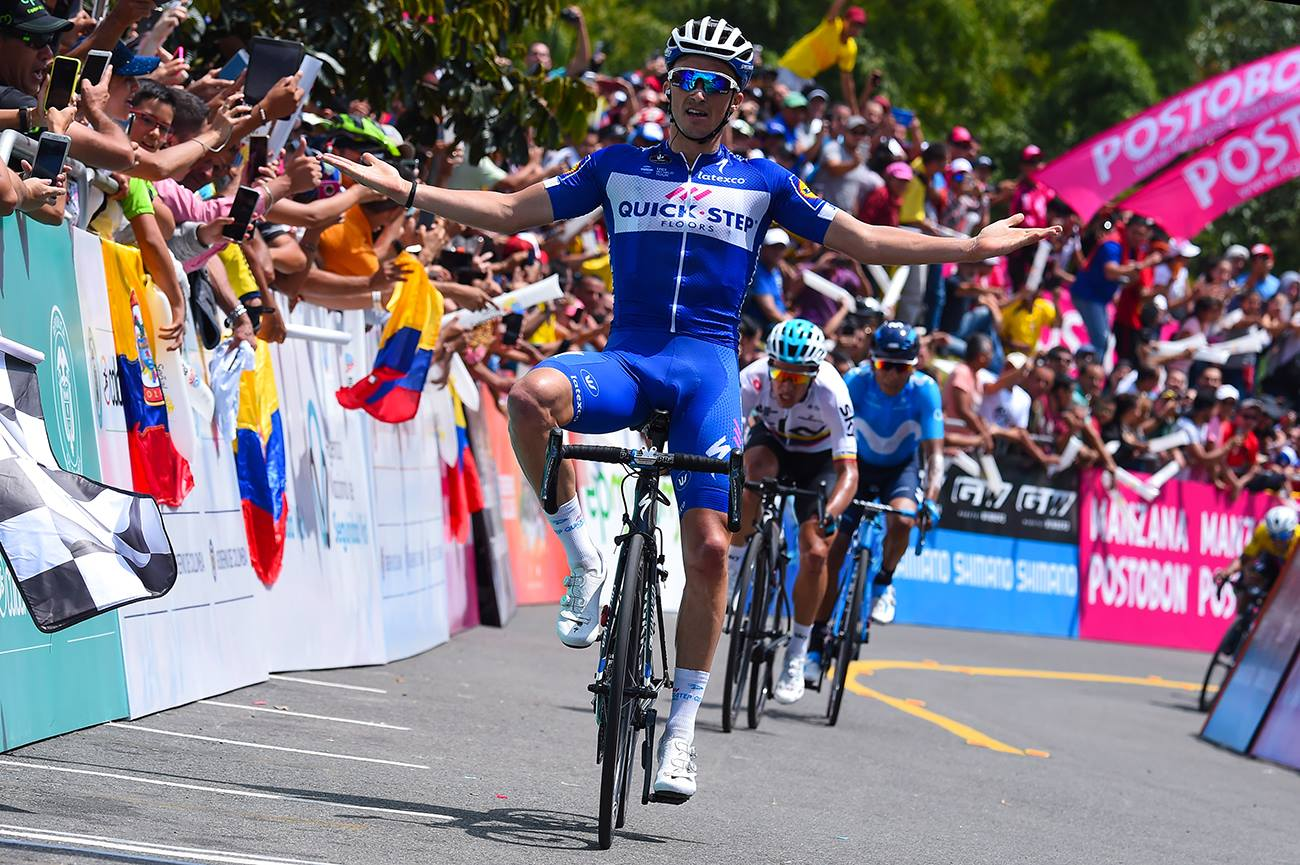 第4ステージを制したジュリアン・アラフィリップ(フランス、クイックステップフロアーズ)