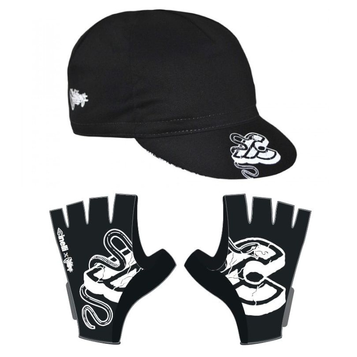 チネリ Mike Giant Cap、Racing Gloves