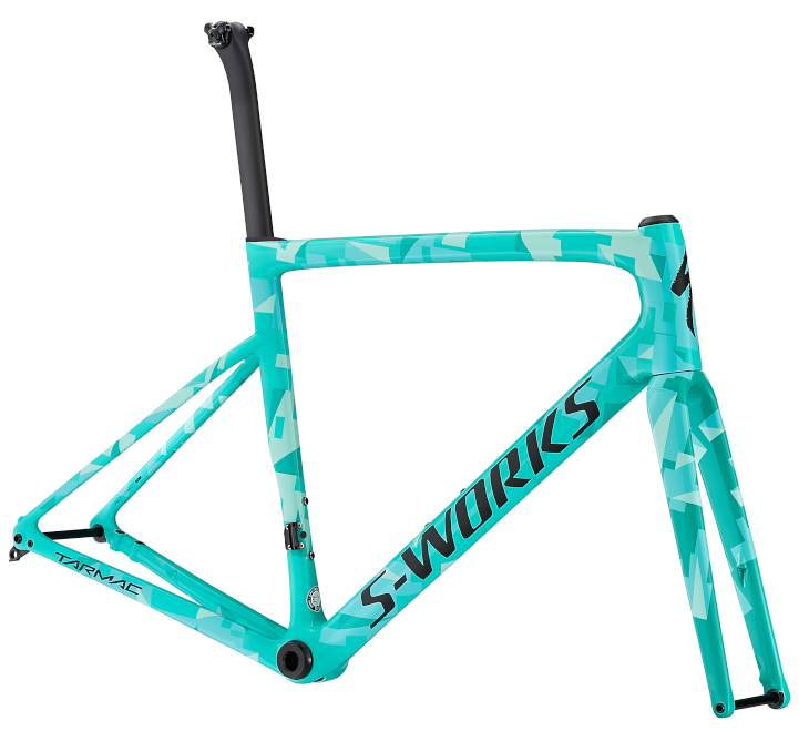 スペシャライズド S-WORKS TARMAC SL6 DISC FRAMESET(GLOSS ACID MINT/MINT/LIGHT TURQ/SATIN/BLACK)