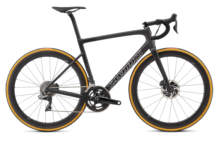 スペシャライズド S-WORKS TARMAC MEN SL6 DISC DI2(SATIN BLACK/SILVER)