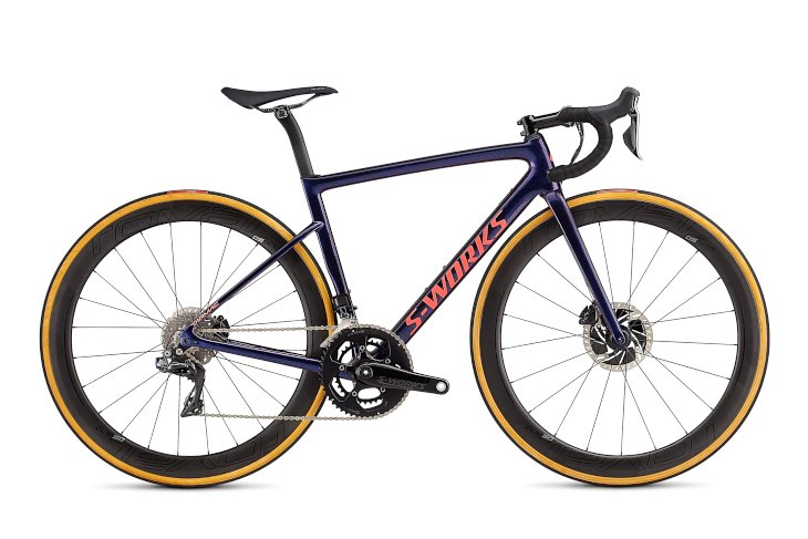 スペシャライズド S-WORKS TARMAC WMN SL6 DISC DI2(GLOSS CHAMELEON FLAKE/SATIN ACID RED/CLEAN)