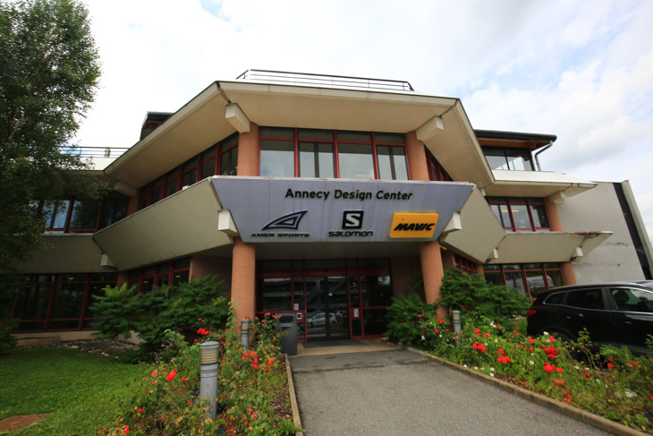 フランス、アヌシーにあるマヴィックの本拠地ADC(アヌシーデザインセンター)