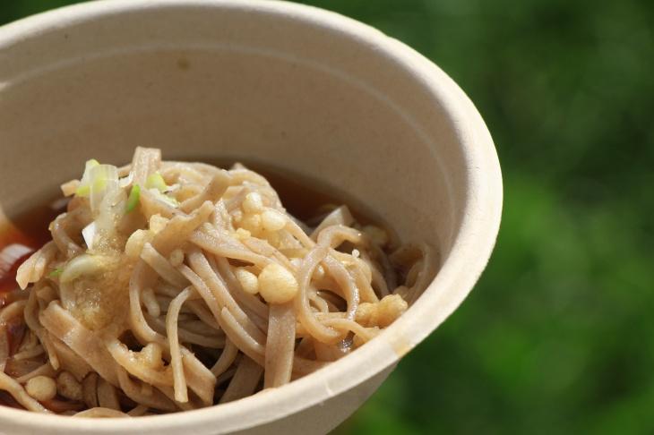 信州の美味しいお蕎麦が頂ける