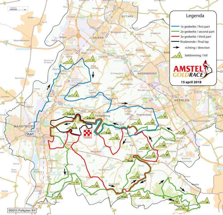 アムステルゴールドレース2018