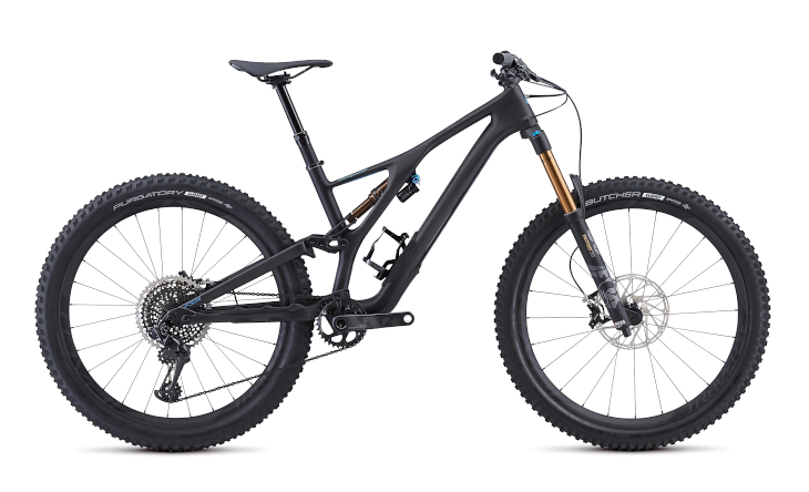スペシャライズド S-WORKS STUMPJUMPER 27.5(Satin/Carbon/Storm Grey)