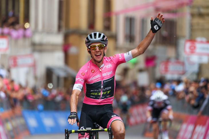 ステージ2勝目を飾ったサイモン・イェーツ(イギリス、ミッチェルトン・スコット)