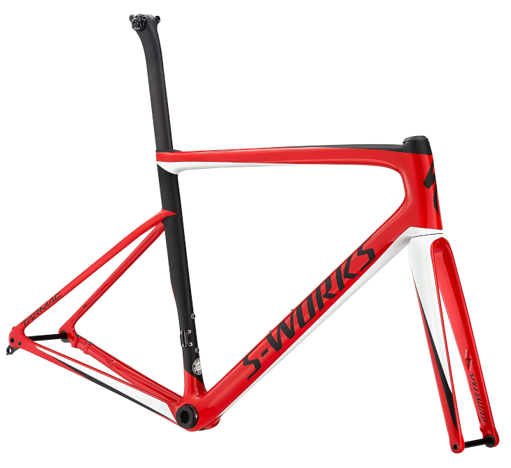 スペシャライズド S-Works Tarmac Disc Frameset(Gloss Flo Red)