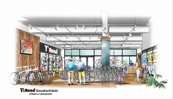 新コンセプトショップ2店舗目「Y's Road Ginza Kachidoki urban e-commuter」東京・勝どきにオープン