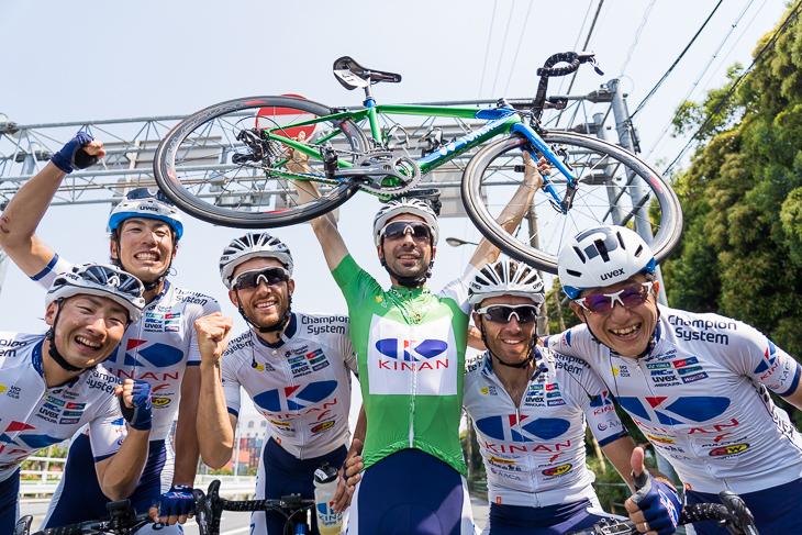 ツアー・オブ・ジャパン優勝の勢いに乗って悲願の地元優勝なるか?キナンサイクリングチーム