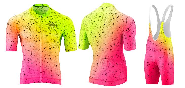 スパカズ Scorch Kit(Neon Yellow/Neon Pink)