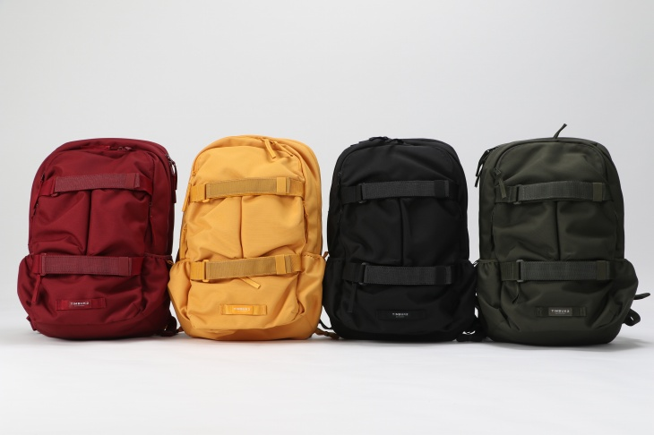 TIMBUK2 Vert Pack(Collegate Red、Amber、Jet Black、Army)