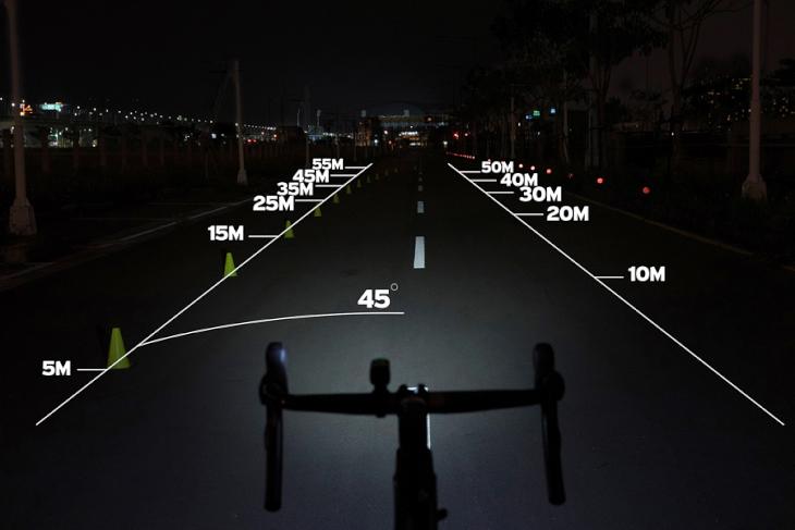 100 ルーメン 自転車ライトの明るさ比較「100〜1000ルーメン」を写真で確認│自転車...