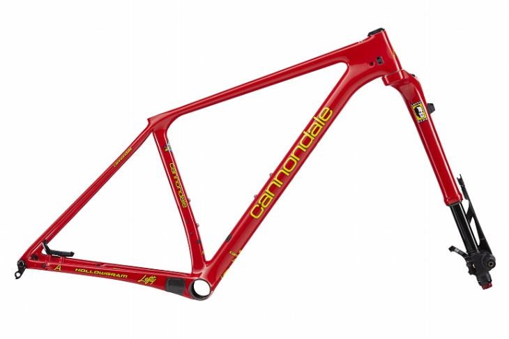 キャノンデール F-Si THROWBACK FRAMESETS(Red)