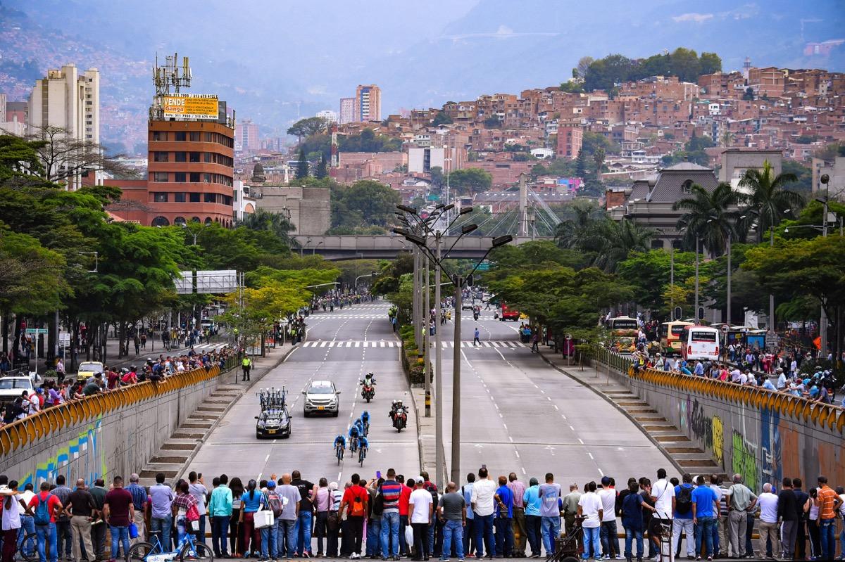 豪華メンバー出場のツアー・コロンビア開幕 初日チームTTでウランが総合首位に立つ