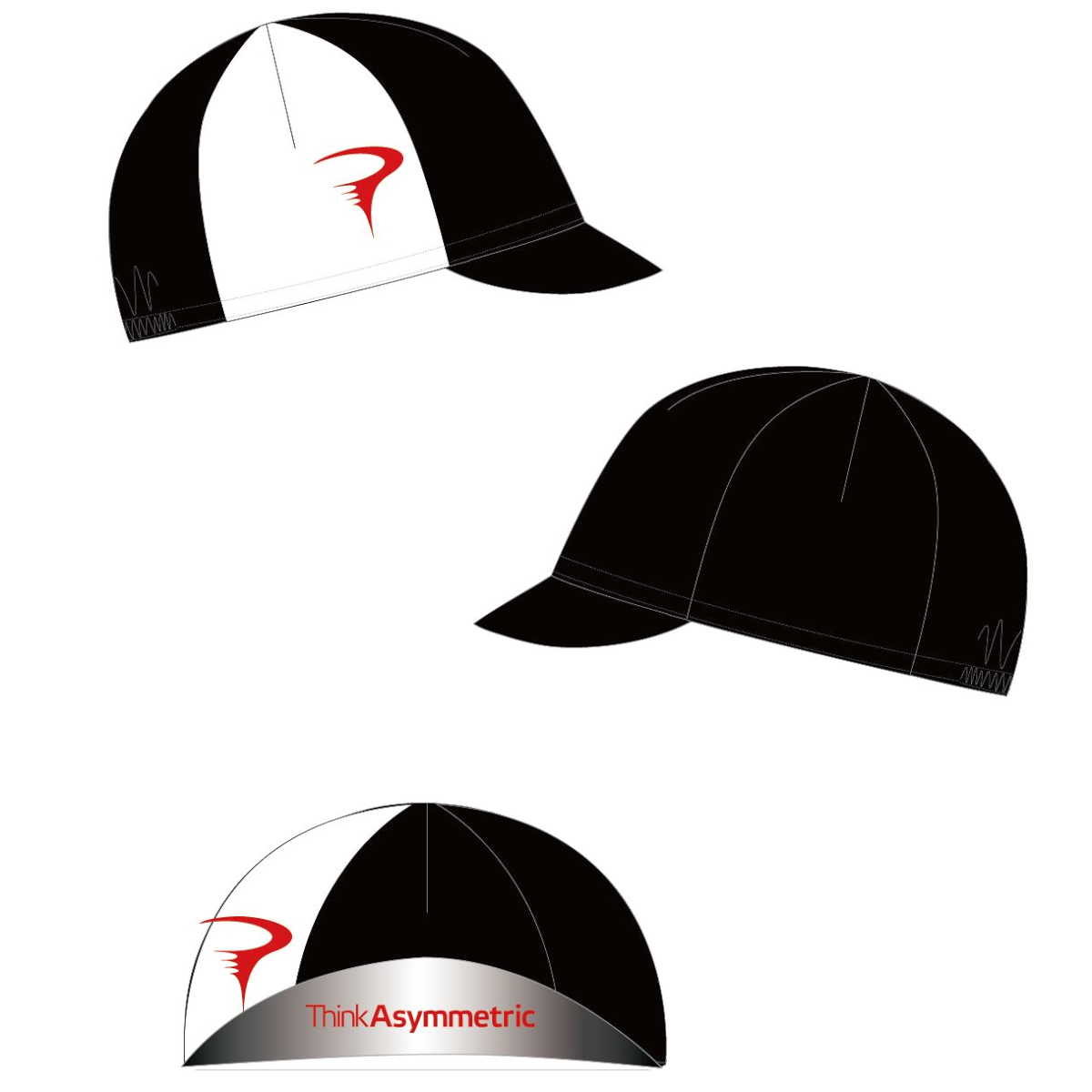 ピナレロ Team Cap(Think Asymmetric)