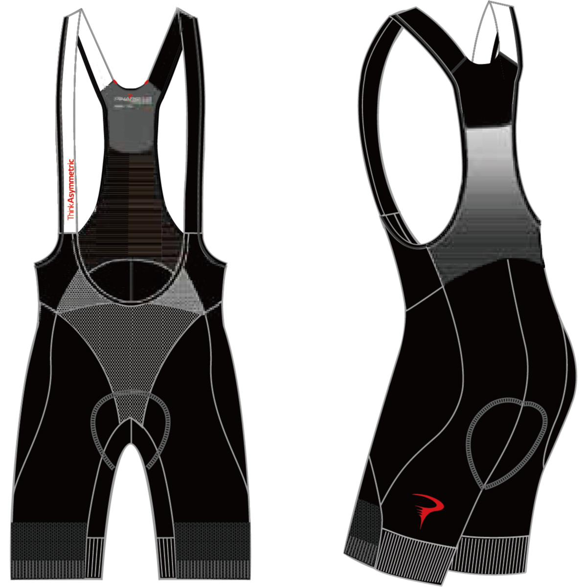 ピナレロ Power Bibshorts(Think Asymmetric)