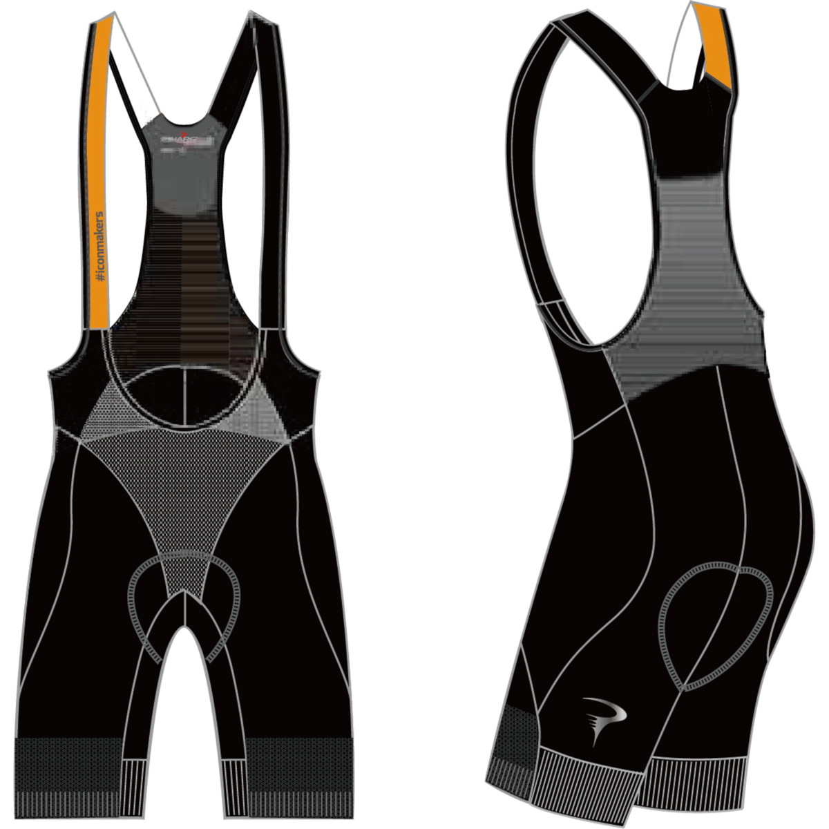 ピナレロ Dual Gripper Bibshorts(#iconmakers)