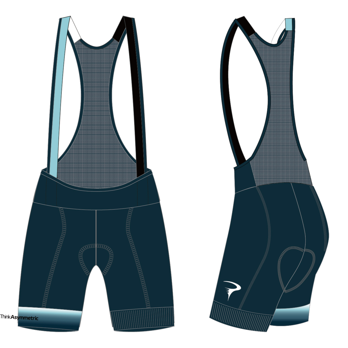 ピナレロ Cosmo W Bibshorts(Think Asymmetric)