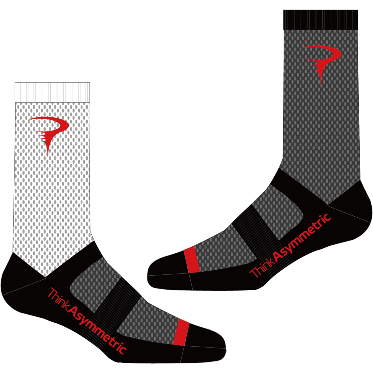 ピナレロ Logo Sock(Think Asymmetric)