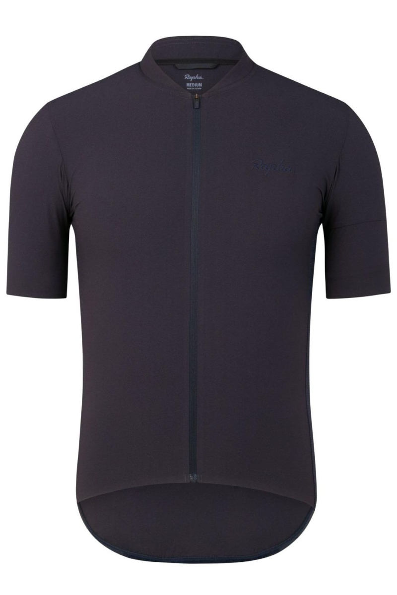 Rapha SILK JERSEY(ネイビー)