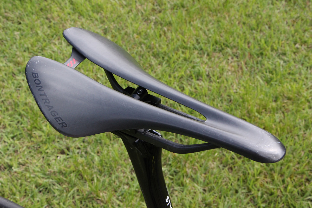 サドルはBontrager Carbon XXX Bike Saddle