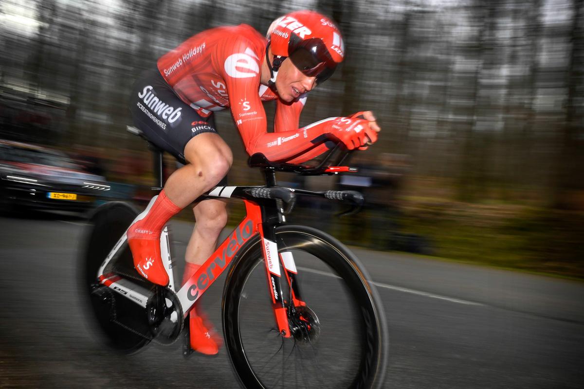 平均スピード48.064km/h、18分51秒のトップタイムで優勝したセーアン・クラーウアナスン(デンマーク、サンウェブ)