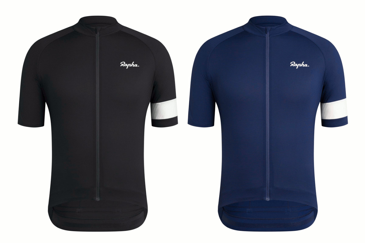 Rapha CORE LIGHTWEIGHT JERSEY(ブラック、ネイビー)